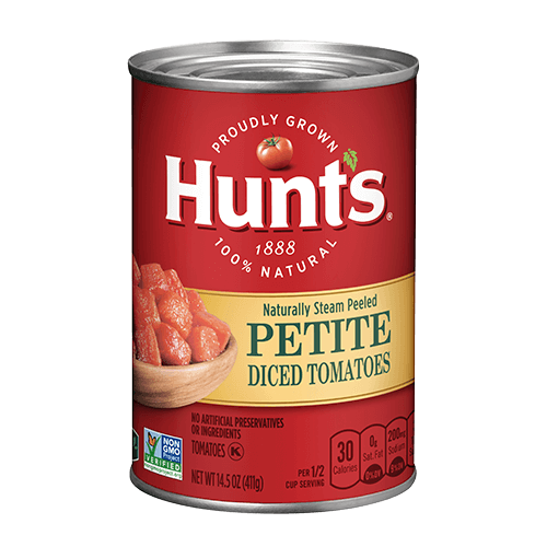 canned diced tomato products hunt s